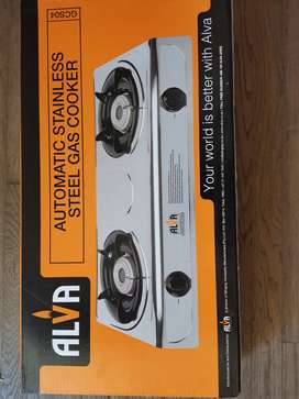 Alva two burner gas stove