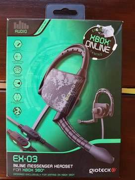 Gioteck EX-03 Mono Headset - Wired (Xbox 360)