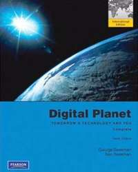 Image of Digital Planet: Tomorrow's Technology and You: Complete 10th edition