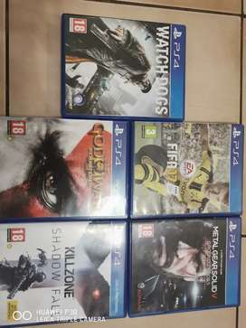 Ps4 Games For Sale - 250 Each