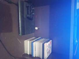 Ps3 console+1controler+16 games