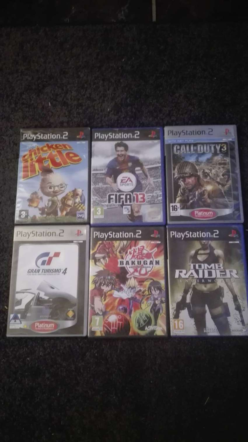 PlayStation 2 Games 0