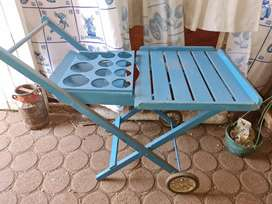 Antique Cold drink trolley