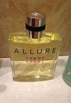 Chanel Allure Homme Sport Cologne новый, раритетная золотистая версия