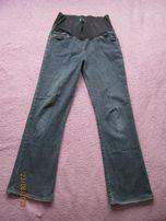 Spodnie jeansy niebieskie ciążowe rozm. 38 M