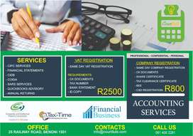 Preparing Your Financial Statements - SAME DAY SERVICE