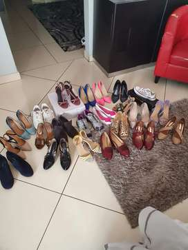 22 pairs of shoes - All excellent quality , Size 5