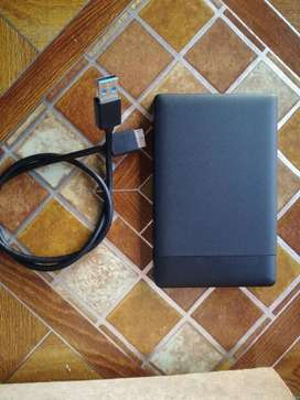 500g External Hard Drive with USB Cable