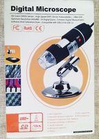 Цифровой микроскоп 50-500Х MicroView, USB-камера LED подсветка, новый