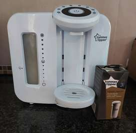 Tommee tippee Perfect prep machine with 1 filter included