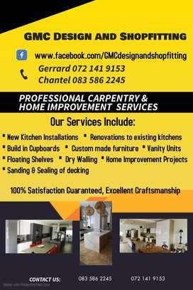 Contact us for all your Carpentry Requirements