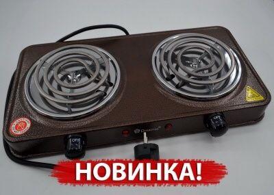 Новая Электроплита электрическая настольная печь /плита Domotec 2000Вт Харьков - изображение 1