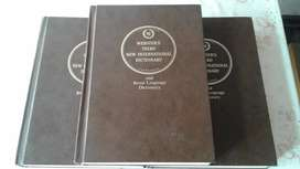 Websters Dictionary Set.