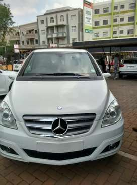 A Mercedes Benz B200 in a very immaculate condition.