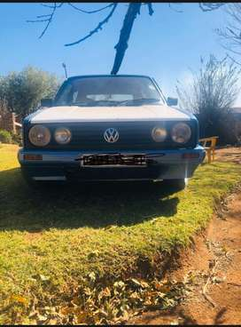 Blue citi golf for sale for R30 000 negotiable apon arrival