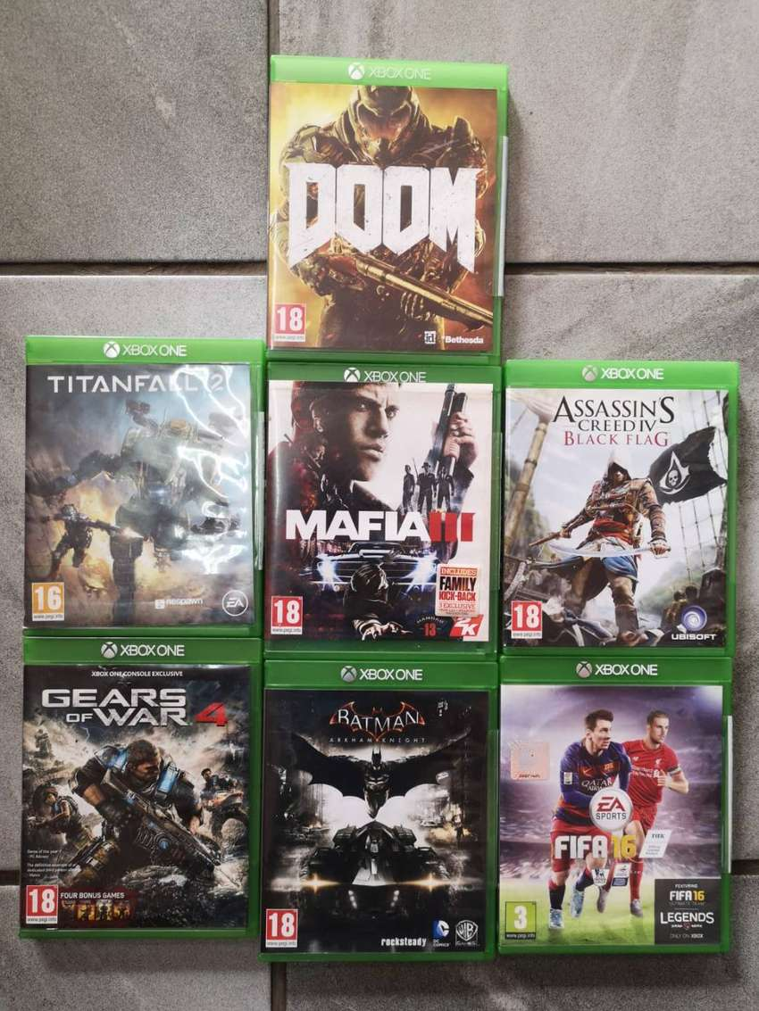 Xbox One Games R299