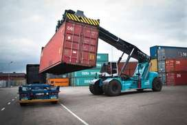 Guarantee job assist immediately after training in container handler