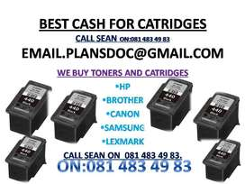 WE PAY FOR NEW SEALED TONERS AND CATRIDGES