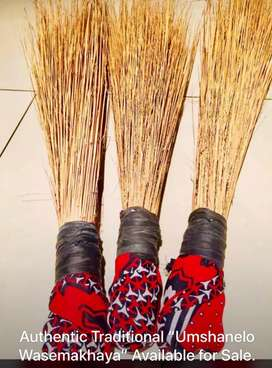 Authentic Traditional African Brooms