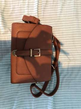 Brand New Small Brown leather bag