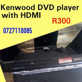 kenwood dvd player with HDMI