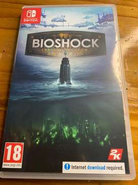 Nintendo Switch Bioshock The Collection game