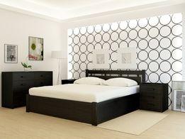 Кровать деревянная Hong Kong + с подъемным механизмом