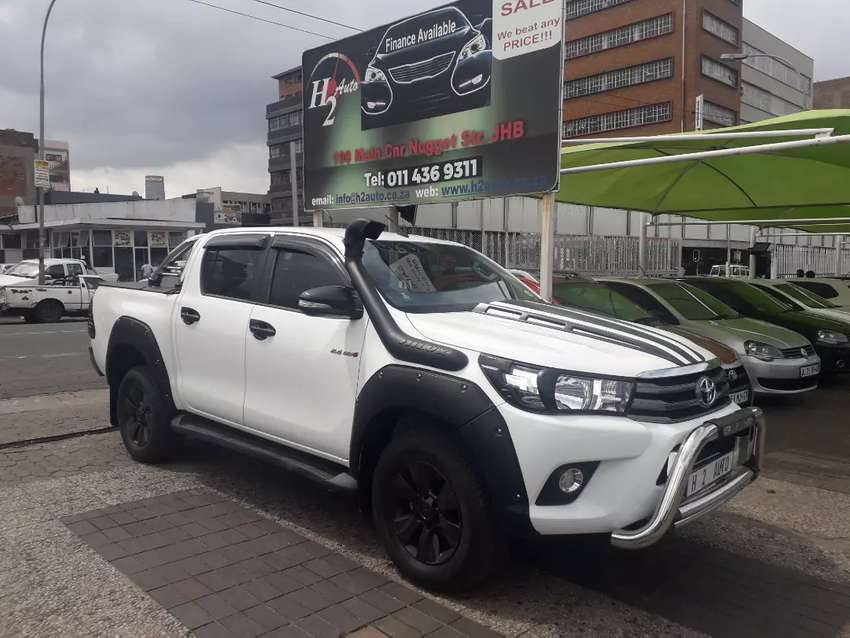 2018 Toyota hilux 2.4gd6 on sale 0