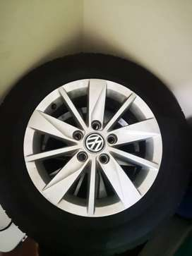 Golf 7 TSI rims and Tyres