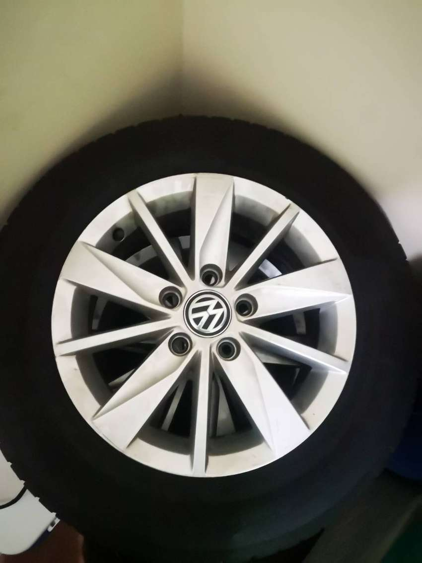 Golf 7 TSI rims and Tyres 0
