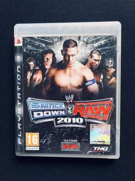Smack Down Vs Raw - Play Station 3 Game