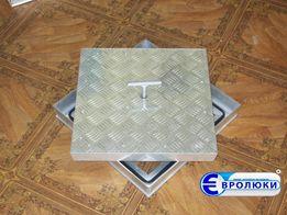 Евролюки. Напольные алюминиевые потайные заполняемые люки невидимки
