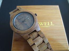 Bewell Zegarek drewniany na bransolecie