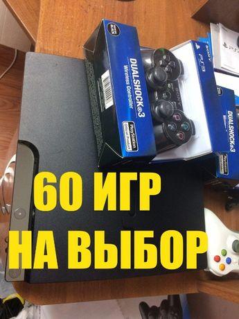 PS 3 slim 1 TB прошитая + ИГРЫ НА ВЫБОР Киев - изображение 1