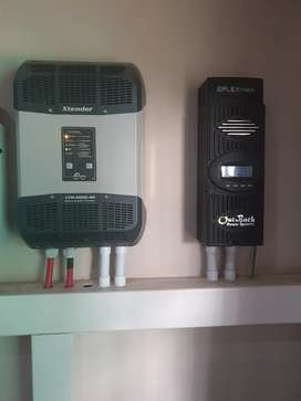 Solar inverter and charger controller