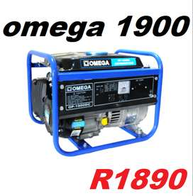 Omega 1.9KW 4-Stroke Generator OP-1900DC  Omega OP-1900DC, with forced
