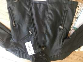 GUESS Genuine Leather Jacket (Kids)
