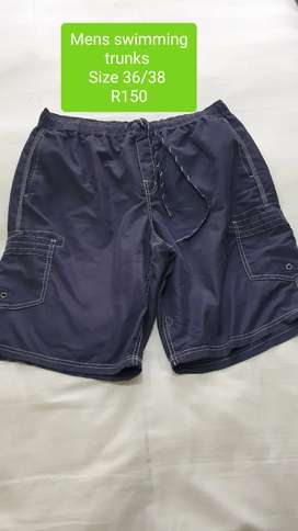 2nd Hand Mens Swimming Trunks Size 36/38 R150