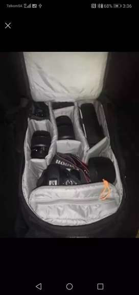 Canon 550D with Accessories
