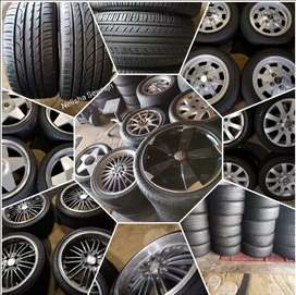 Second hand Tyres Rims and tyres