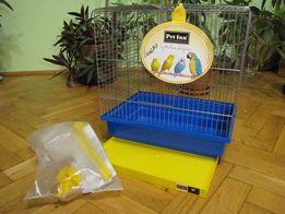 Klatka dla ptaków Giglio 39,5x29x37,5, wyposażona