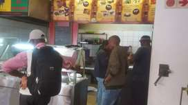 Very busy take away for sale
