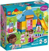 Image of Lego Duplo Doc McStuffins Backyard Clinic brand new in sealed box