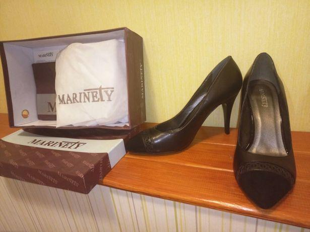 Туфли модельные, классика, натуральная кожа, 38 р. Новые, в коробке. Днепр - изображение 2