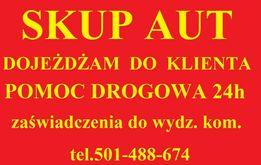 Skup aut ZŁOMOWANIE kasacja pojazdów POMOC DROGOWA Brzeziny Laweta