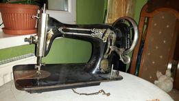 Stara maszyna do szycia antyk: firma STOEWER