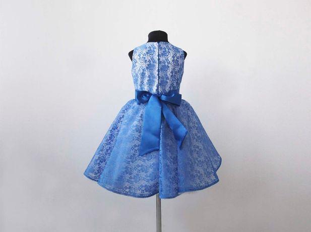 Нарядное платье на выпуск, платье с кружевом Киев - изображение 2