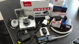 Kompletny Monitoring Dahua 4x Kamera HD Detekcja Ruchu P2P Chmura LAN