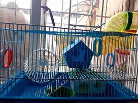 Hamster Cage wirh Accesories