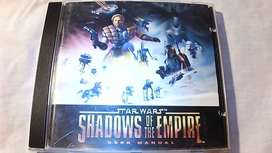 PC Game - Collector Item. Star Wars Shadows of the Empire 1997